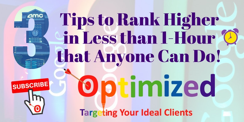 3 SEO Tips to Rank Higher in Less than 1-Hour that Anyone Can Do