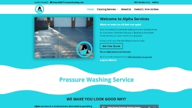 Alpha Services Website
