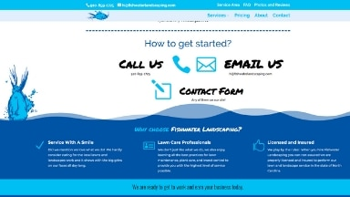 Fishwater Landscaping Website