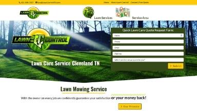 Lawn Control Website