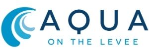Aqua on the Levee Logo