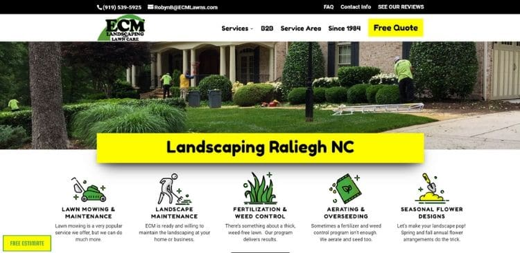 North Carolina Web Design